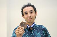 Luis Fernando Gutiérrez Córdova, de Sonora. Obtuvo medalla de bronce.