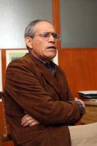 Edmundo García Moya, investigador miembro de la AMC, destacó la importancia de impulsar la investigación agrícola en zonas áridas.