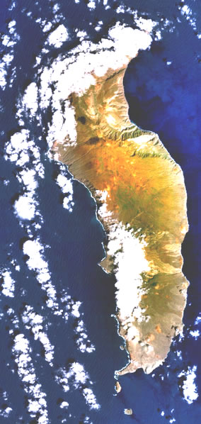 Isla de Guadalupe, NASA