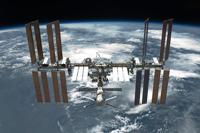La NASA ha considerado que CREAM, en el que participa un grupo de expertos mexicanos, tendría una excelente plataforma de estudio en la Estación Espacial Internacional (en la imagen), explicó el doctor Arturo Menchaca, ex presidente de la AMC.