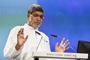 El Premio Nobel de la Paz 2014, el indio Kailash Satyarth, durante su participación en la 65 Reunión Lindau de Premios Nobel.