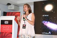 La doctora Itziar Aretxaga, del Instituto Nacional de Astrofísica, Óptica y Electrónica (INAOE) e integrante de la Academia Mexicana de Ciencias, se enfoca en el  estudio de la astrofísica extragaláctica y cosmología.