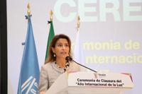 Nuria Sanz Gallego, directora y representante de la Oficina de la Unesco en México.