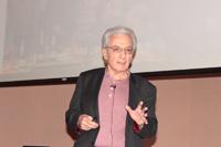 El Premio Nobel de Física 2007, doctor Albert Fert, ofreció la conferencia La ruta desde la ciencia fundamental a la innovación tecnológica, en la Facultad de Ciencias de la UNAM.