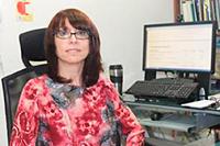 La doctora Montserrat Bacardí Gascón, investigadora de la Universidad Autónoma de Baja California e integrante de la Academia Mexicana de Ciencias.