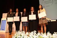 Las ganadoras de las Becas para las Mujeres en la Ciencia L´Oréal-Unesco-Conacyt-AMC 2016 fueron: Morelia Camacho, Selene Fernández, Maritza Lara, Viridiana González y María Guadalupe Montes de Oca.