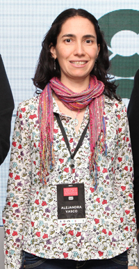 Doctora Alejandra Vasco Gutiérrez, del Instituto de Biología de la UNAM, participó como ponente en la Reunión General de la Academia Mexicana de Ciencias Ciencia y Humanismo II.
