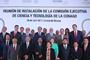 Foto oficial de los participantes en la Reunión de Instalación de la Comisión de Ciencia y Tecnología de la Conago.
