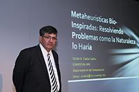 Por la flexibilidad y facilidad de uso que ofrecen, las metaheurísticas se han vuelto una opción recurrente para resolver problemas de alta complejidad, sobre todo de optimización, destaca Carlos Coello Coello, investigador del Cinvestav y miembro de la Academia Mexicana de Ciencias.