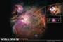 Nebulosa de Orión, la región más cercana de formación de estrellas y planetas.