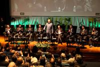 Ceremonia del 52 Aniversario del Instituto Mexicano del Petróleo, acto presidido por el secretario de Energía, Pedro Joaquín Coldwell.