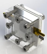 Figura 2: Celda de combustible para la generación de energía