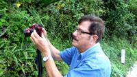 El doctor Carlos Beutelspacher Baigts, investigador en la Universidad de Ciencias y Artes de Chiapas, e integrante de la Academia Mexicana de Ciencias, en trabajo de campo en los ecosistemas chiapanecos
