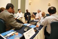 El Comité Ejecutivo de IANAS durante su reunión en Mérida, Yucatán.