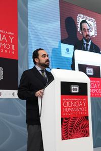 Doctor Óscar Cruz Barney, del Instituto de Investigaciones Jurídicas-UNAM.