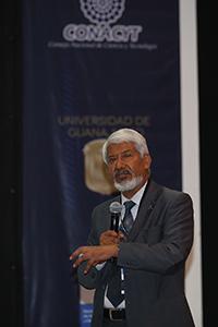 Participación del presidente de la Academia Mexicana de Ciencias, José Luis Morán López , durante  el  XXII Congreso Nacional de la Somedicyt.