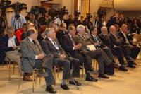 Miembros de El Colegio Nacional fueron testigos de honor de la firma de convenio entre las instituciones, mexicana y francesa.