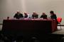 Los investigadores Lorenzo Meyer, Ignacio Marván (autor), José Ramón Cossío, Enrique Florescano y Pablo Mijangos, en la presentación del libro