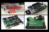 En la imagen: Sistemas que se han desarrollado en la Universidad Autónoma de Querétaro: CORS o núcleos de propiedad intelectual, que son aplicaciones en Lenguajes de Descripción de Hardware que dan funcionalidad a los arreglos de compuertas programables en campo (FPGA, por sus siglas en inglés)..