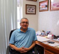 El investigador Edgar Moctezuma Velázquez, de la Facultad de Ciencias Químicas de la Universidad Autónoma de San Luis Potosí e integrante de la Academia Mexicana de Ciencias.