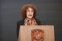 Julia Tagüeña Parga, directora adjunta de Desarrollo Científico del Conacyt.