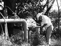 Entre los componentes que se evalúan a través del Índice de Pobreza del Agua está el acceso de la población al agua para consumo y la agricultura, así como el saneamiento de aguas residuales.