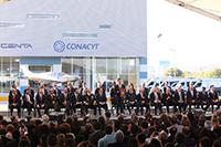 El presidente de la República, Enrique Peña Nieto encabezó la ceremonia en la que hizo entrega de los Premios de Investigación de la Academia Mexicana de Ciencias 2016 y 2017 e inauguró el Centro Nacional de Tecnologías Aeronáuticas (Centa).