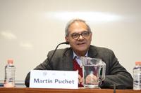 Dr. Martín Puchet,  subdirector del Seminario de Investigación sobre Sociedad del Conocimiento y Diversidad Cultural.