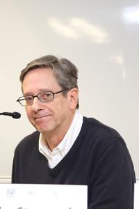 Pedro Stepanenko Gutiérrez, director del Instituto de Investigaciones Filosóficas  de la UNAM.