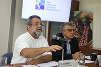 El coordinador general de Foro Consultivo Científico y Tecnológico, José Franco, abordó en rueda de prensa  la reestructuración del Sistema Nacional de Ciencia y Tecnología en la actual propuesta de reformas a la Ley de Ciencia y Tecnología.
