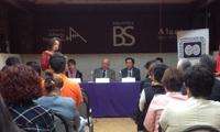 Como parte del programa de la ceremonia, se realizaron lecturas a cargo del personal de IBBY México.