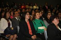 """Un total de 146 profesores de secundaria, primaria y preescolar se congregaron en el auditorio """"Galileo Galilei"""" de la Academia Mexicana de Ciencias para recibir sus diplomas tras haber concluido y aprobado el diplomado La Ciencia en tu Escuela."""