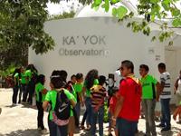 Ka' Yok, en Cancún, es uno de los cuatro planetarios que conforman la Red de Planetarios de Quintana Roo. En los últimos años el Conacyt ha reconocido el papel de los planetarios como herramientas fundamentales para la divulgación y ha destinado recursos específicos para el desarrollo de estos sitios.