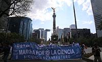 Por segunda ocasión se realizó en la Ciudad de México la Marcha por la Ciencia, la cual partió del Ángel de la Independencia y finalizó en el Zócalo. En ella participaron estudiantes, investigadores y ciudadanos que expresaron demandas a favor de la ciencia y la tecnología.