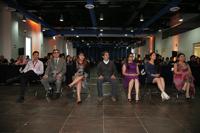 Ganadores y menciones honoríficas del Premio Nacional de Periodismo de Ciencia 2016: Isaac Torres, Guillermo Cárdenas, María Morales, Antimio Cruz, Susana Trejo, Tlanex Valdés y Fanny Miranda.