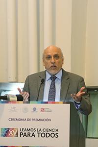 Enrique Cabrero Mendoza, director general del Consejo Nacional de Ciencia y Tecnología.