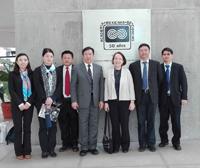 En la imagen, (centro): Xu Yanhao, vicepresidente de la Asociación China de Ciencia y Tecnología (CAST, por su sigla en inglés); y Estela Lizano Soberón, vicepresidenta de la Academia Mexicana de Ciencias, acompañados por una delegación de CAST.