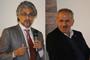 Los doctores Guruduth  S. Banar, de IBM-Nueva York, y Luis Enrique Sucar, del INAOE, participaron en el Seminario Inteligencia Artificial y el Futuro de México. Primer Evento, realizado en el auditorio de Consejo Nacional de Ciencia y Tecnología.