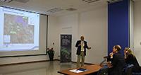 El ingeniero químico Laureano Álvarez, gerente de programa del Banco de Desarrollo de América del Norte.