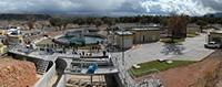 Sistema Fotovoltaico de la Planta Tratadora de Aguas Residuales Los Alisos, en Sonora,  la primera planta de tratamiento de aguas residuales que funciona con energía solar en América Latina, que ha servido, entre otros, a recuperar las condiciones medioambientales del río Sonoyta.