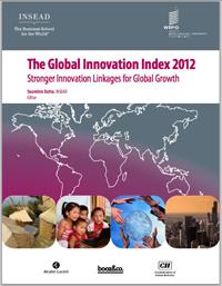 Ranking Global de Innovación 2012 elaborado por la ONU y la Escuela de Negocios INSEAD.