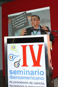 La esencia del periodismo es contar historias. Marcelo Leite, redactor, editor, columnista y reportero de ciencia del periódico Folha de S. Paulo.