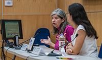Graciela Raga y Rosario Romero Centeno, investigadoras del Centro de Ciencias de la Atmósfera de la UNAM.