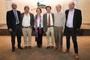 Hoy se impartirán doce conferencias. En la imagen José Luis Morán, Jesús Dorantes, Susana Lizano, Jaime Urrutia, Arturo Menchaca y Luca Ferrari.