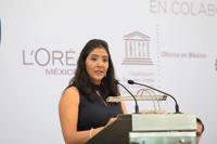 Mónica López Hidalgo, de la Facultad de Medicina, Universidad Autónoma de Querétaro, estudia las interacciones neuro-gliales y su participación en el deterioro de las funciones cognitivas asociadas al envejecimiento.