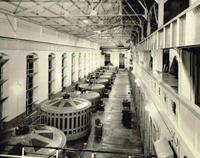 Imagen del complejo generador de Necaxa, la primera gran instalación eléctrica en México en la primera década del siglo XX