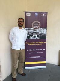 Doctor Felipe José Hevia de la Jara, investigador del Centro de Investigaciones y Estudios Superiores en Antropología Social (CIESAS) Unidad Golfo, en Veracruz, Ver.