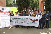 Participantes del Foro sobre estrategias de colaboración AMC-NANOMXCN-México-China:NANO Materiales/Ciencia/Tecnología para Energía Renovable y Remediación Ambiental, celebrado el 17 de agosto en la sede de la Academia Mexicana de Ciencias. José Luis Morán (centro), presidente de la AMC, encabezó la actividad académica en su calidad de anfitrión.