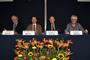 Michael Clegg, Jaime Urrutia, Volker Ter Meulen y Jeremy McNeil dieron la bienvenida a 80 especialistas de 21 países ella Américas al taller