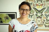 Edna González Bernal, del Centro Interdisciplinario de Investigación para el Desarrollo Integral Regional Unidad Oaxaca del IPN, ganadora de una de las Becas para Mujeres en la Ciencia L´Oréal-Unesco-Conacyt-AMC 2017 en el área de ciencias naturales.